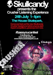 Skullcandy Presents The Crusher Listening Experience Sheffield
